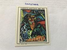 Buy Italy Art Umberto Boccioni Painting mnh 1976 stamps