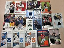 Buy 2016-2020 Topps Panini Football & Baseball Relic Cards, 15 Cards