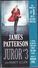 Buy Juror #3 by James Patterson 2019 Paperback Book - Very Good