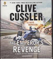Buy The Emperor's Revenge by Clive Cussler, Read by Scott Brick 11.5 hrs 10 CDs