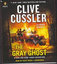Buy The Gray Ghost by Clive Cussler, Read by Scott Brick 10.5 hrs 9 CDs