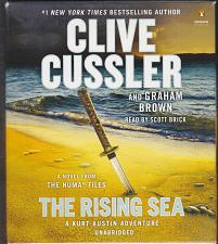 Buy The Rising Sea by Clive Cussler, Read by Scott Brick 11.5 hrs 9 CDs