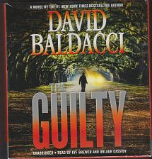 Buy The Guilty by David Baldacci Read by Kyf Brewer and Orlagh Cassiday 12 hrs 10 CDs