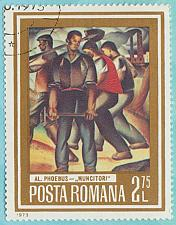 Buy [RO2447 Romania: Sc. no. 2447 (1973) Used