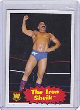 Buy The Iron Sheik #81 - WWE 2012 Topps Heritage Wrestling Trading Card