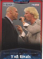 Buy Kurt Angle vs Jeff Jarrett #96 - TNA 2009 TriStar Wrestling Trading Card