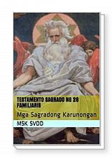 Buy TESTAMENTO SAGRADO NG 28 FAMILIARIS