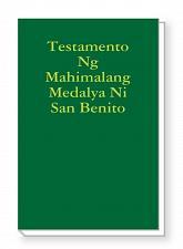 Buy Testamento Ng Mahimalang Medalya Ni San Benito