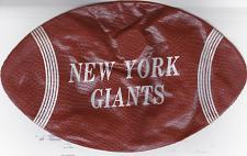 "Buy Vintage 1960's 7"" inflatable football New York Giants"