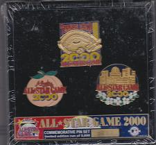 Buy Atlanta Braves 2000 MLB All Star Game Limited Edition Commemorative Pin Set