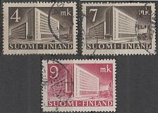 Buy [FI0219] Finland: Sc. no. 219, 219A, 219B (1939-1942) Used Complete Set