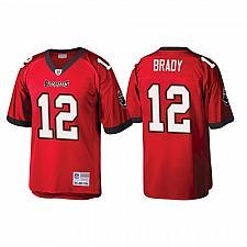 Buy Men's Tampa Bay Buccaneers Tom Brady Red 2002 Throwback Jersey