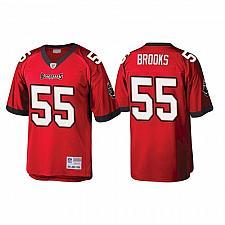 Buy Men's Tampa Bay Buccaneers Derrick Brooks Red 2002 Throwback Jersey