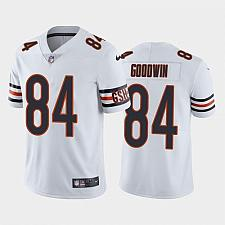 Buy Men's Chicago Bears Marquise Goodwin White Limited Jersey