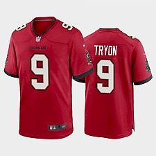 Buy Men's Tampa Bay Buccaneers Joe Tryon Red 2021 Draft Jersey