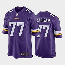 Buy Men's Minnesota Vikings Christian Darrisaw Purple 2021 Draft Jersey