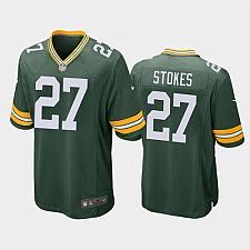 Buy Men's Green Bay Packers Eric Stokes Green 2021 Draft Jersey