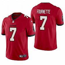 Buy Men Tampa Bay Buccaneers Leonard Fournette Red Super Bowl LV Jersey