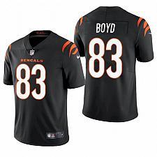 Buy Men's Cincinnati Bengals Tyler Boyd 2021 Black Limited Jersey