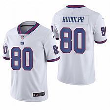 Buy Men's New York Giants Kyle Rudolph White Color Rush Jersey