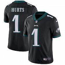 Buy Men's Philadelphia Eagles #1 Jalen Hurts Black Limited Jersey