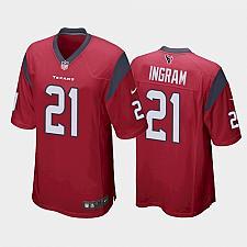 Buy Men's Houston Texans Mark Ingram Red Limited Jersey