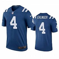 Buy Men's Indianapolis Colts #4 Sam Ehlinger Jersey Royal 2021 Color Rush Legend