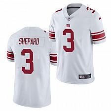 Buy Men's New York Giants #3 Sterling Shepard Jersey White 2021 Limited Football