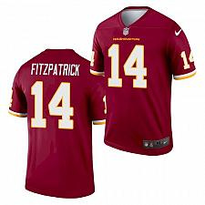 Buy Men's Washington Football Team Ryan Fitzpatrick Jersey Burgundy 2021 Legend