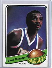Buy 1979-80 TOPPS NBA BASKETBALL DAVID THOMPSON NUGGETS BV$5.00