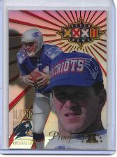 Buy 1998 COLLECTORS EDGE SUPER BOWL XXXII PROOF DREW BLEDSOE NICE CARD NFL