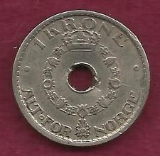 Buy NORWAY 1 KRONE 1949 Coin - Haakon VII (Cu-Ni)