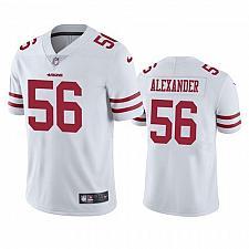 Buy Men's San Francisco 49ers #56 Kwon Alexander White Limited Jersey