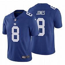 Buy Men's New York Giants #8 Daniel Jones Royal Limited Jersey