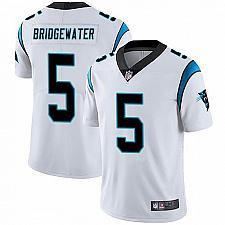 Buy Men's Carolina Panthers #5 Teddy Bridgewater White Limited Jersey