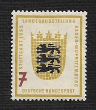 Buy German Hinged Scott #729 Catalog Value $4.20
