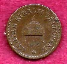 Buy HUNGARY 2 Fillar 1895 Coin - Bronze, Franz Joseph I