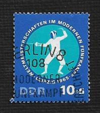 Buy German DDR Used Scott #B135 Catalog Value $.25