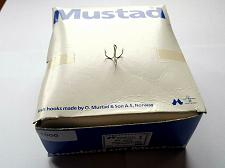 Buy 1000 MUSTAD TREBLE HOOKS 35657 SIZE 6 MADE IN NORWAY