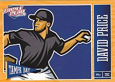 Buy David Price #78 - Rays 2013 Panini Triple Play Baseball Trading Card