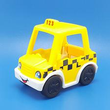 Buy Fisher Price Little People Going Places Taxi Cab Yellow Checkered Replacement