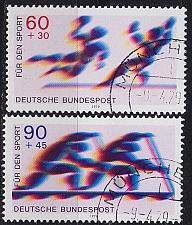 Buy GERMANY BUND [1979] MiNr 1009-10 ( O/used ) Sport