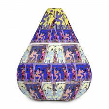 Buy Dinner & A Movie Print Bean Bag Chair Cover