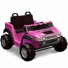 Buy Kid Motorz Hummer H2 Two-Seater 12-Volt Ride-On in Pink