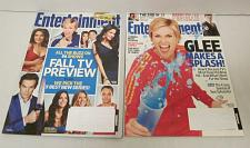Buy GLEE May 28, 2010 & Sept.17/24 2010 ENTERTAINMENT WEEKLY Magazine Lot