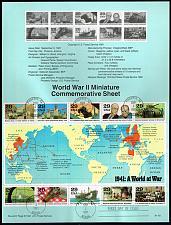 Buy US #SP963 (2559) World War II (4Stars) |USASP0963-01