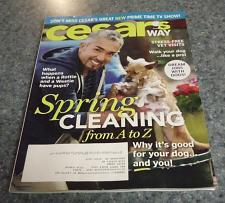 Buy Cesars Way Magazine April 2014 Issue For Cocker Spaniel Rescue Charity