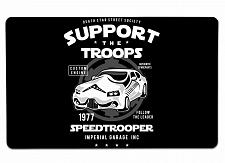 """Buy Speed Trooper Large Mouse Pad 10"""" x 16"""" Mat Placemat Pop Culture Inspired Nerdy"""
