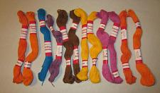 Buy 12 Cotton Embroidery Friendship Thread Floss Skeins Assorted Colors
