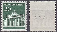 Buy GERMANY BUND [1966] MiNr 0507 vR ( **/mnh ) [01]